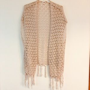 CROCHET COTTON CARDIGAN SIZE SP.